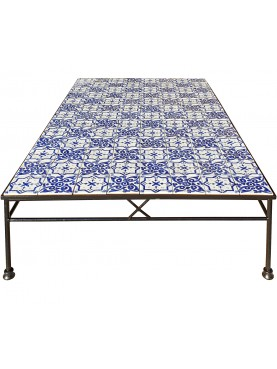 Little tiles table hand made by us - 104 tiles