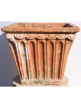 Cassetta toscana anticha in terracotta