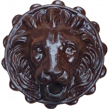 Our cast iron lion mask