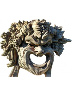 Riproduzione di maschera romana di Bacco