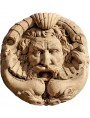 Great terracotta roman mask