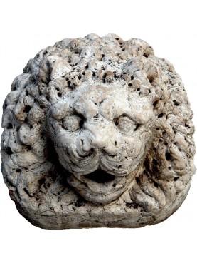 Mascherone Leone Veneziano in terracotta