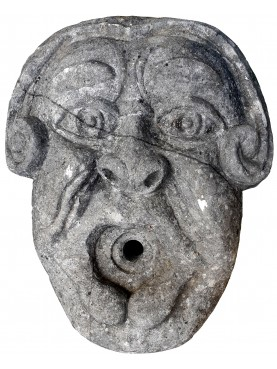 Fountain stone mask