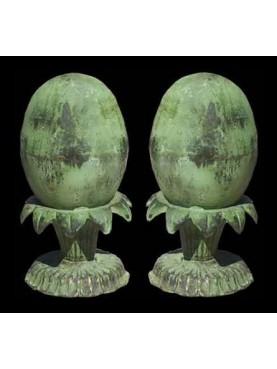 Uova con supporto H.26cm