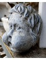 Putto Child marble mask for fountain