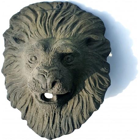 Piccola maschera per fontana in Bronzo