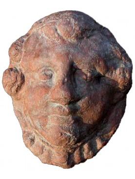Little terracotta mask
