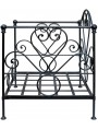 Classic Forged Iron Garden Armchair