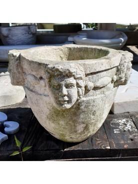 Mortaio Beneventano del 1900 in pietra