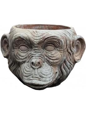 Monkey cachepot