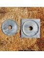 Bocchettoni in marmo Bardiglio Apuano