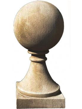 Sfera Ø30cm con base monoblocco conica diametro 30 cm