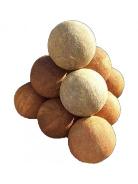 Stone spheres Ø50cms hand made chiselled
