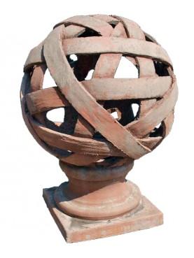 Lanterna in terracotta Ø40cm