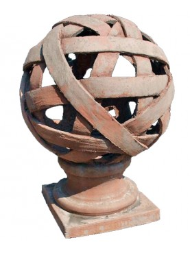 Terracotta lantern Ø40cms