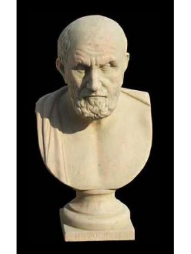 Chrysippus of Soli philosopher terracotta bust