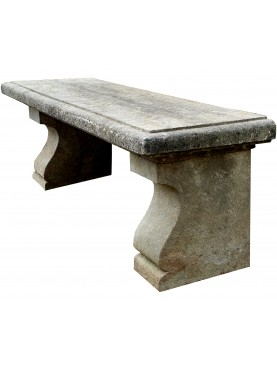 Tuscany Stone bench - sandstone 140 cm