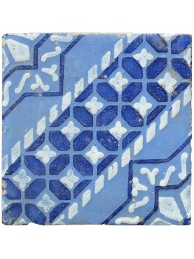 Original majolica tile from Sicily