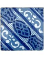 Majolica ancient tile blue and white