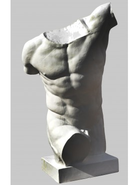 Borghese GLADIATOR Ith century BC repro in plaster
