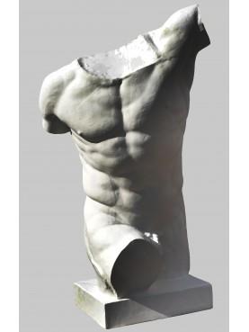 GLADIATORE borghese I secolo a.C. repro in gesso