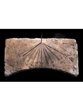 Meridiana di pietra di nostra produzione