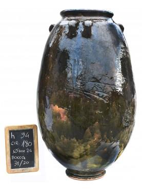 Sahel majolica vases H.94cms