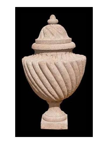 Vaso in pietra serena di ns produzione