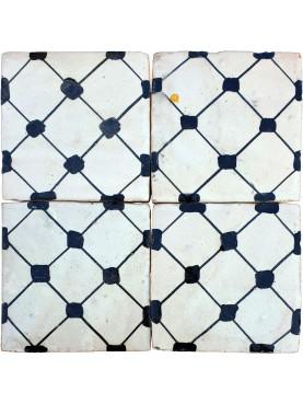 Piastrelle Marocchine fatte a mano 10,5x10,5cm