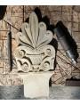 L'olotipo in pietra scolpito da noi, work in progress