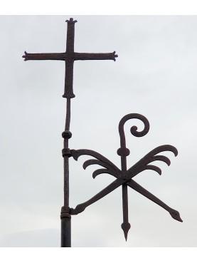 Banderuola segnavento con Croce e bandierina