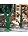 Prickly pear large wrought iron tree