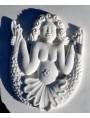 La sirena di nostra produzione in marmo staturaio da cui abbiamo tratto la forma per il bronzo