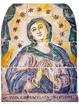 Sicilian Madonna panel