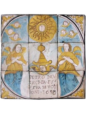 Devotional panel 1698