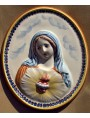 Immaculate heart of Mary - majolica