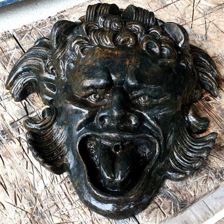 Mascherone Altoviti fusione in bronzo fontana