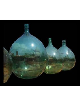 Old wine demijohn