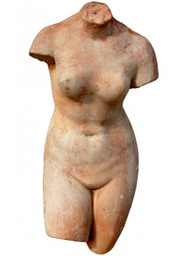 Headless Venus in terracotta