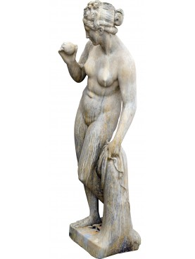 Venus of the Pomo by Bertel Thorvaldsen - coated cement