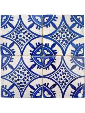 Handmade Moroccan tiles 10,5x10,5cm