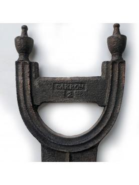 Bronze Carron company footstool