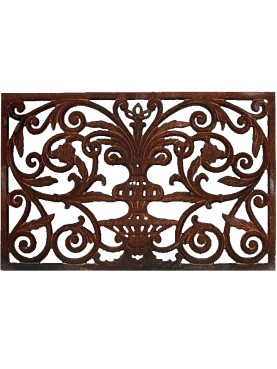 carpet cast iron doormat