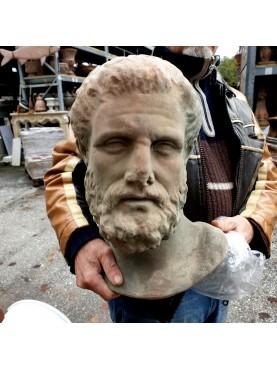 Terracotta head of Hippocrates