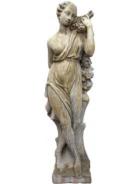 Reconstituted stone statue SPRING