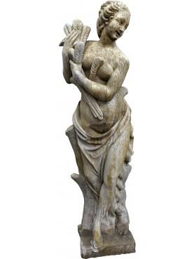 Reconstituted stone statue SUMMER