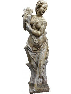 Statua in pietra ricostituita ESTATE