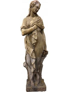 Statua in pietra ricostituita INVERNO