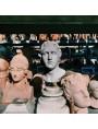 La nostra Atena in terracotta patinata