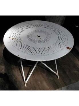 Folding table Ø97cms